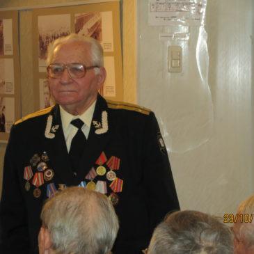 Поздравления с 85 летием ветерана подводного флота России Ивана Алексеевича Андрианова