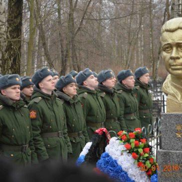Урок Памяти  на Богословском кладбище