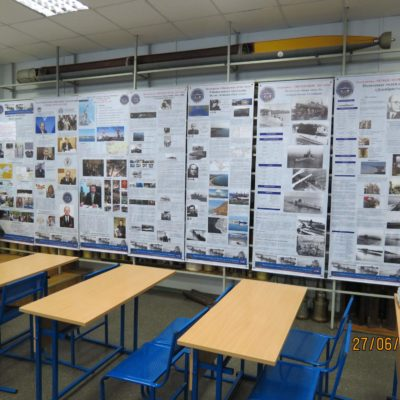 Выставка СПб ГБУК МИПСР им. Маринеско на кафедре Е-3