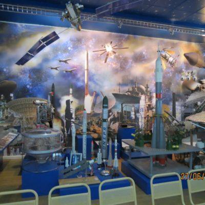 Космический зал ВОЕНМЕХА