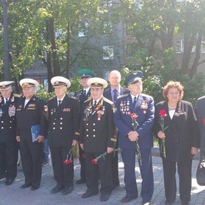 Участники Памятного похода