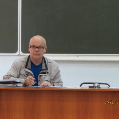 Всё в руках секретаря учёного совета М.Н. Охочинского