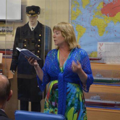 Выступление поэтесы - Бурдиной Елены Сергеевны