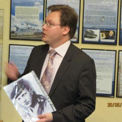Докладывает автор выставки Козлов Кирилл Сергеевич