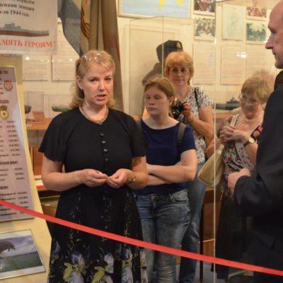 Открытие выставки. Приветственная речь Марии Сергеевны Инге-Вечтомовой