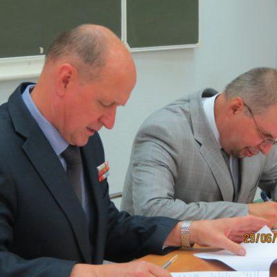 Торжественное подписание соглашения о совместной работе