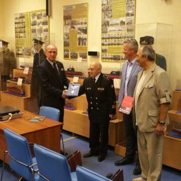 Встреча сотрудников музея с представителями  Лиги офицеров запаса органов государственной безопасности России
