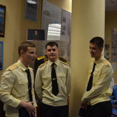 Ученики кадетского корпуса посетили наш Музей