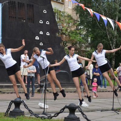 Выступление хореографического коллектива Легенда