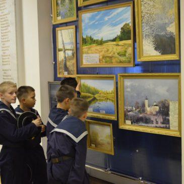Открытие выставки в Нахимовском училище