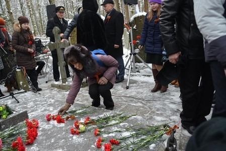 """Митинг, посвященный прорыву блокады Ленинграда, Дню рождения А.И. Маринеско и годовщине потопления лайнера """"Вильгельм Густлофф"""""""