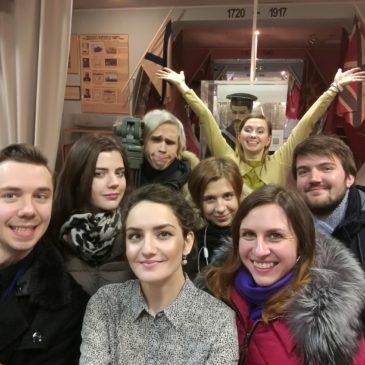 20 января встреча в рамках проекта «Школа музейного мастерства» состоялась в музее истории подводных сил России им. А. И. Маринеско!