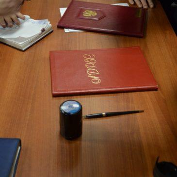 14 апреля состоялась встреча с начальником военного комиссариата Санкт-Петербурга по Калининскому району О.В. Личманом