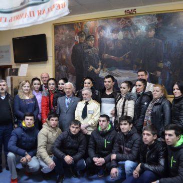 Мероприятия, приуроченные 75-летию со дня гибели Героя Советского Союза М.И. Гаджиева