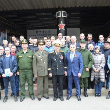 Торжественные проводы призывников Калининского района на службу в ряды Вооруженных сил Российской Федерации