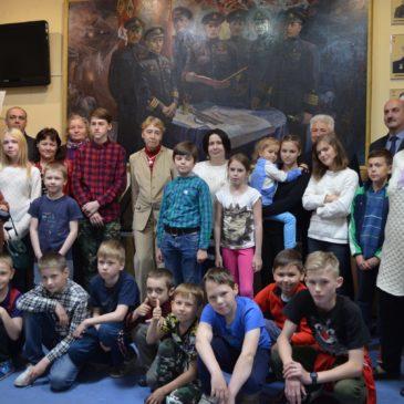 Открытие выставки «Великий учитель»