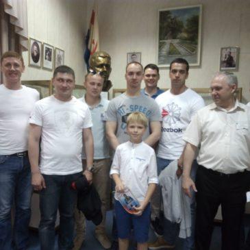 19 августа Музей посетили члены экипажа РПКСН «Князь Владимир»