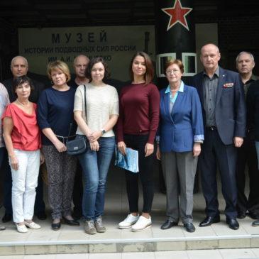 «МИПСР имени Маринеско»  посетила группа сотрудников НИЦ «Курчатовский институт – ЦНИИ КМ «Прометей»