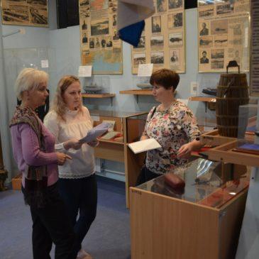 8 сентября представители Государственной библиотеки для слепых и слабовидящих провели методическое занятие сотрудникам музея!