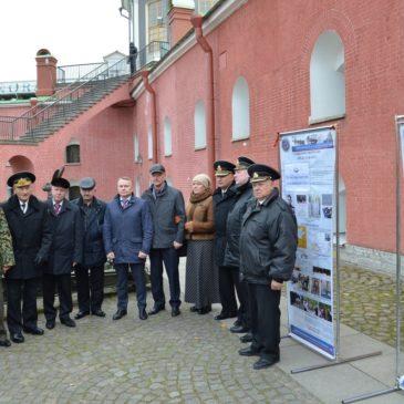Полуденный выстрел с Нарышкинского бастиона Петропавловской крепости