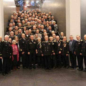 Главком ВМФ России Владимир Королёв выступил в стенах ЦВММ перед ветеранами флота