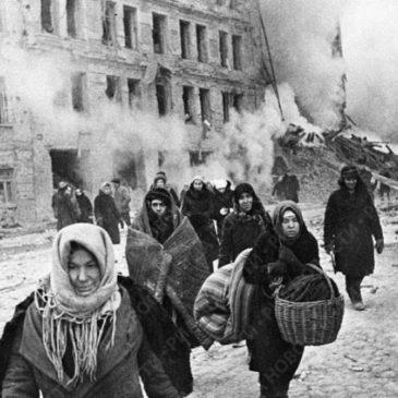 Сегодня годовщина прорыва блокады Ленинграда в январе 1943 года