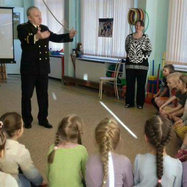 Занятие приуроченное ко Дню Защитника Отечества в детском саду № 67