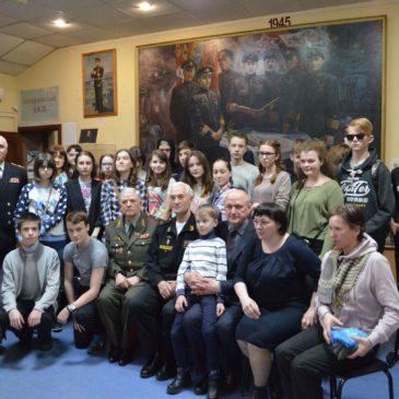 в «Музее истории подводных сил России имени А.И. Маринеско» состоялось торжественно-траурное мероприятие, посвященное Дню памяти погибших подводников.
