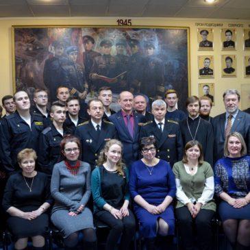 «Московские суворовцы» – «Музей истории подводных сил России имени А.И. Маринеско»