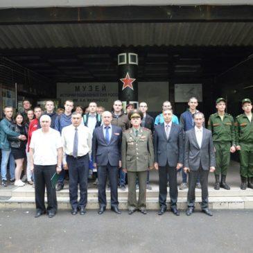 Торжественные проводы в Вооруженные Силы  Российской Федерации