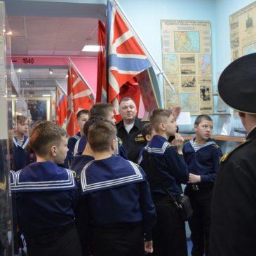 Воспитанники морских детско-юношеских секций города  Казани в нашем музее