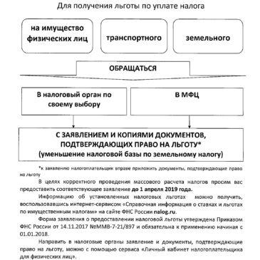 Информация по налогам