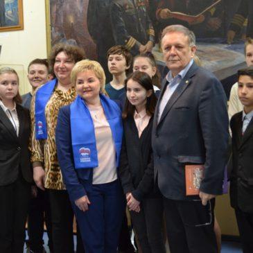 Депутат Законодательного Собрания Санкт-Петербурга в нашем Музее