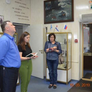 Студенты БГТУ имени Д.Ф. Устинова сдают зачеты в нашем Музее