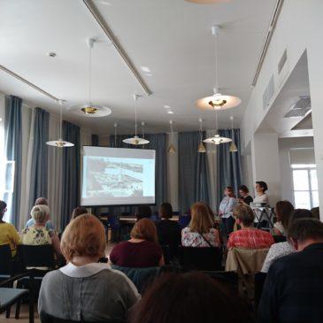 Семинар сотрудников музеев Санкт-Петербурга и Хельсинки