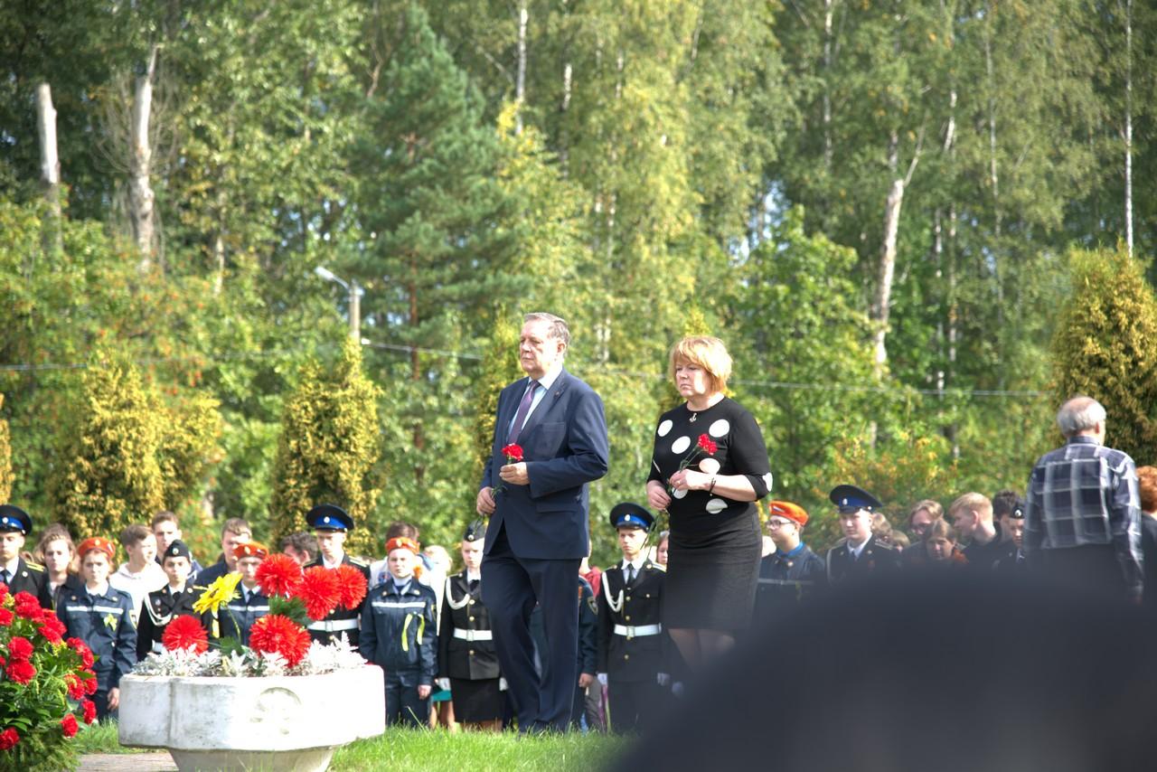 Митинг на Богословском кладбище
