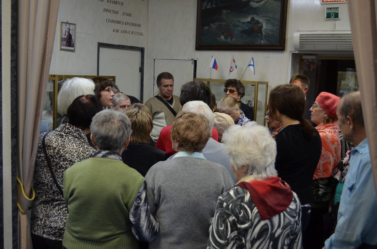 Адаптированная экскурсия для слабовидящих по экспозициям Музея