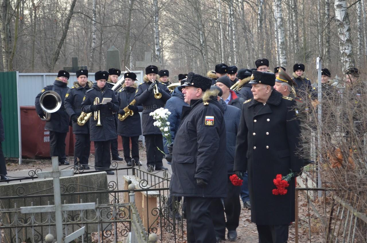 Мероприятие по случаю 56-й годовщины со дня смерти А.И. Маринеско
