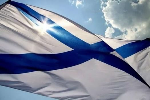 Андреевский флаг отмечает 320-летие
