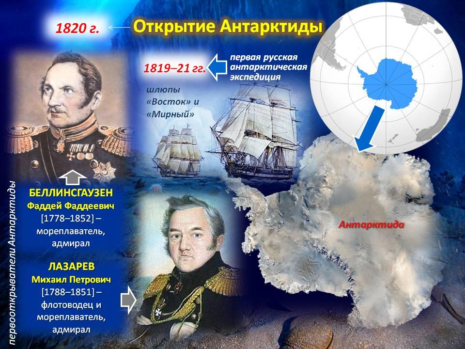 200 лет открытия Антарктиды
