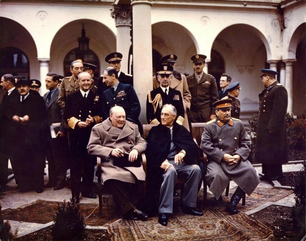 Ялтинская конференция 04 февраля 1945 г. – 11 февраля 1945 г.