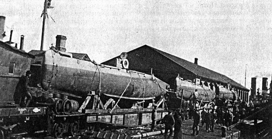 Подводные лодки Флотилии Северного Ледовитого океана в Первой Мировой войне