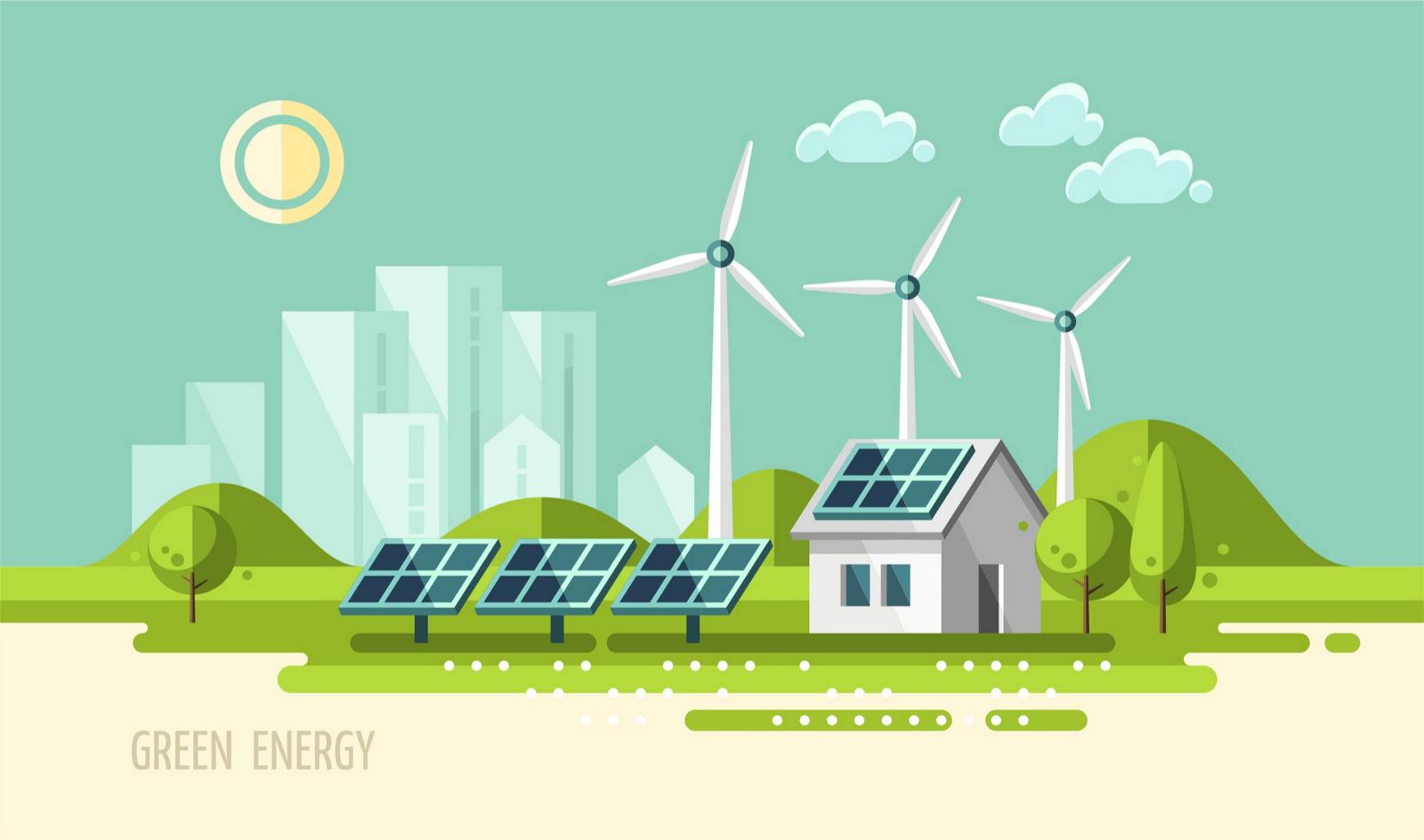 Возобновляемая, «зеленая» или регенеративная энергия