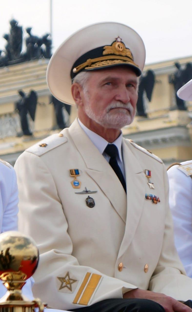 19 июля 2021 года – юбилейный день рождения заслуженного ветерана-подводника, Героя России, контр-адмирала Хмырова Всеволода Леонидовича